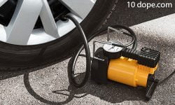 How to use an air compressor to inflate tires